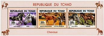 n° 1742 - Timbre TCHAD Poste
