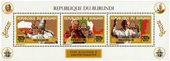 n° 2321 - Timbre BURUNDI Poste