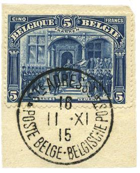 n°145 obl. - Timbre Belgique Poste