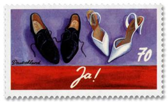 n° 3037 - Timbre ALLEMAGNE FEDERALE Poste
