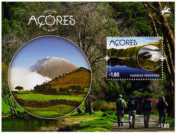 n° F610/F611 - Timbre ACORES Poste