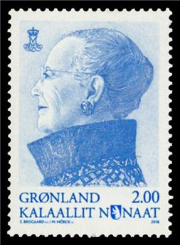 n° 708 - Timbre GROENLAND Poste