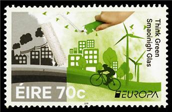 n° 2169/2170 - Timbre IRLANDE Poste (EUROPA)