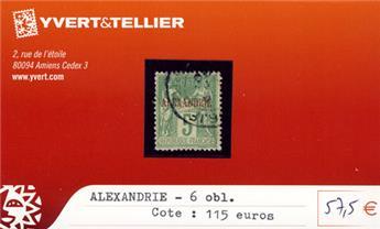 ALEXANDRIE - n° 6