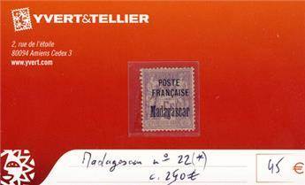 MADAGASCAR - n° 22(*)