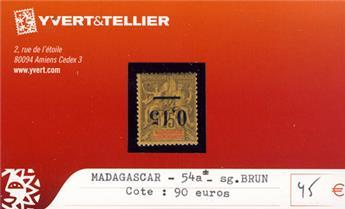MADAGASCAR - n° 54a*