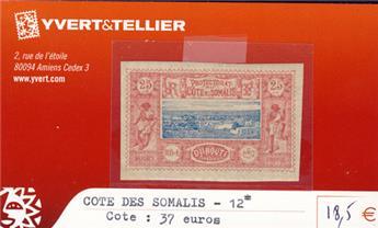 COTE DES SOMALIS - n° 12*