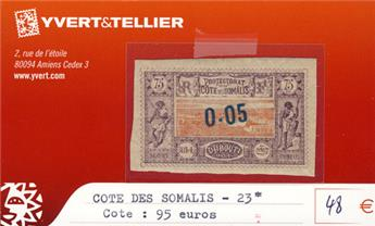 COTE DES SOMALIS - n° 23