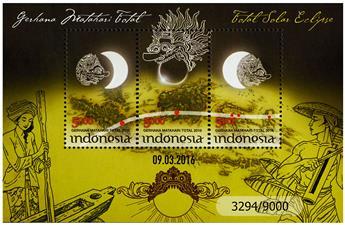 n° 315 - Timbre INDONESIE Blocs et feuillets