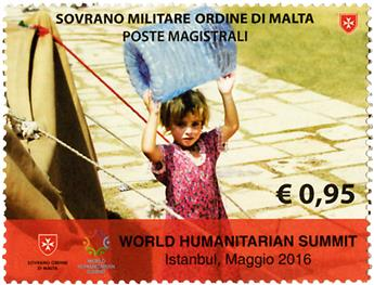 n° 1304 - Timbre ORDRE de MALTE Poste