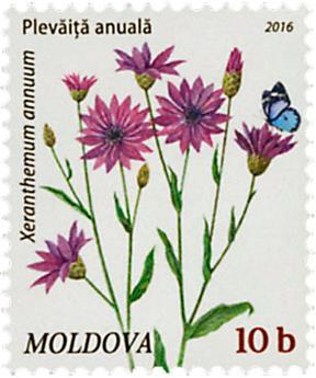n° 825 - Timbre MOLDAVIE Poste