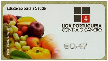 n° 212 - Timbre PORTUGAL Timbres de distributeurs
