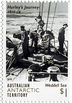 n° 233 - Timbre TERRITOIRE ANTARCTIQUE AUSTRALIEN Poste