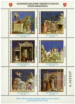 n° 1294 - Timbre ORDRE de MALTE Poste