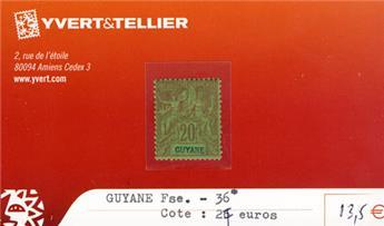 GUYANE - n° 36*