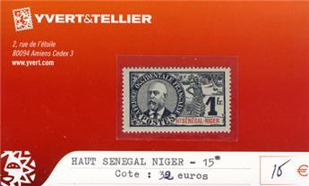 HAUT SENEGAL - NIGER - n° 15*