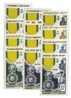 Grande Série Coloniale : Centenaire Médaille Militaire (1952)