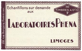 n° 188-C2 : Timbre France Carnet