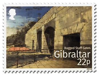 n° 1735/1740 - Timbre GIBRALTAR Poste