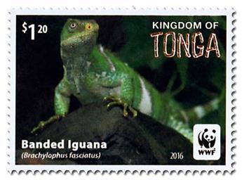 n° 1469 - Timbre TONGA Poste