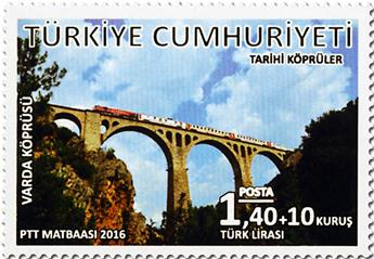 n° 3782 - Timbre TURQUIE Poste