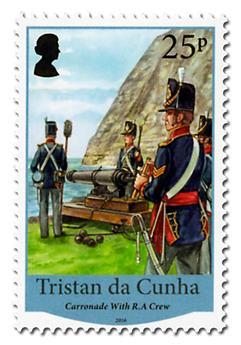 n° 1144 - Timbre TRISTAN DA CUNHA Poste