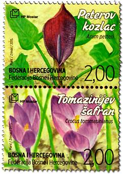 n° 383 - Timbre HERCEG-BOSNA Poste