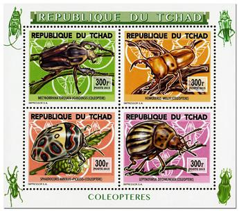 n° 1765 - Timbre TCHAD Poste