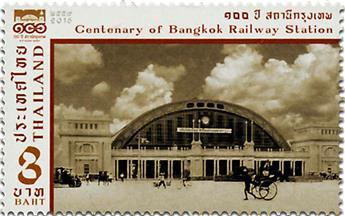 n° 3346 - Timbre THAILANDE Poste