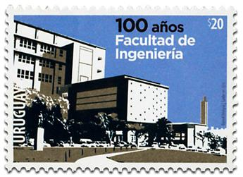 n° 2796 - Timbre URUGUAY Poste