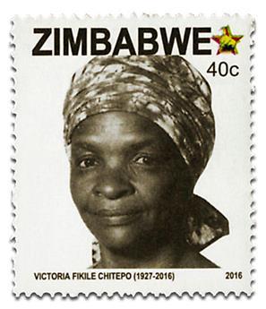 n° 792 - Timbre ZIMBABWE Poste