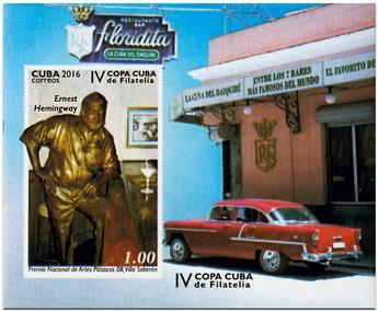 n° 329A - Timbre CUBA Blocs et feuillets