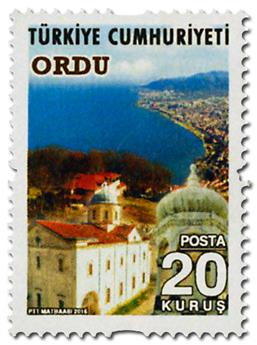 n° 3800 - Timbre TURQUIE Poste
