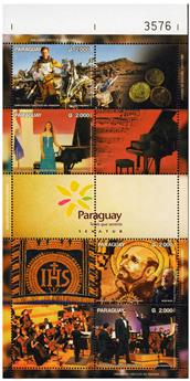n° 3223 - Timbre PARAGUAY Poste