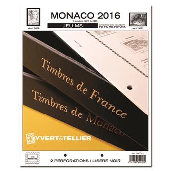 MONACO MS : 2016 (jeux sans pochettes)