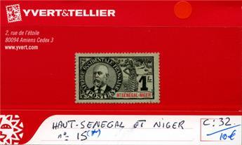HAUT SENEGAL - NIGER - n°15*