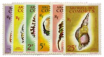 n°19/24* - Timbre COMORES Poste