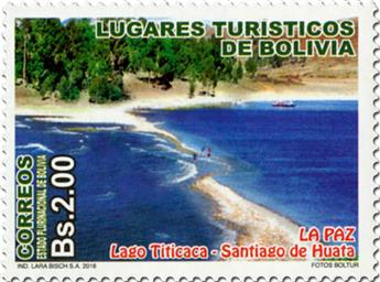 n° 1586 - Timbre BOLIVIE Poste