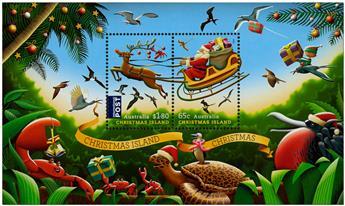 n° 51 - Timbre CHRISTMAS (ILE) Blocs et feuillets