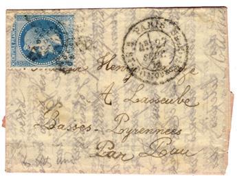 """France : Ballon Monté """"Les états-unis"""" n°29 obl. B"""