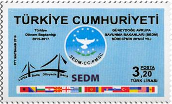n° 3815 - Timbre TURQUIE Poste