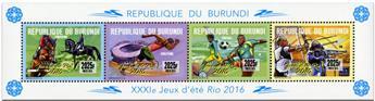 n° 2411 - Timbre BURUNDI Poste