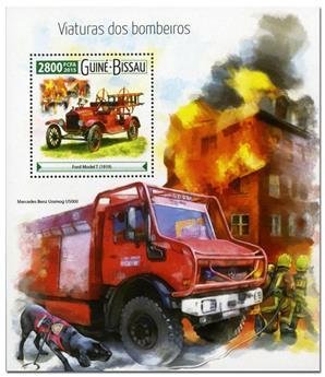 n° 1121 - Timbre GUINÉE-BISSAU Blocs et feuillets