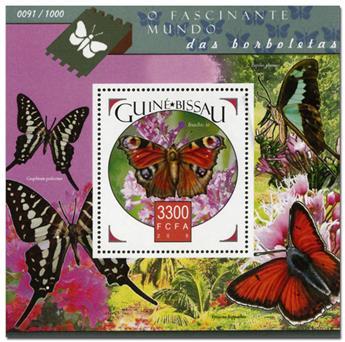 n° 1166 - Timbre GUINÉE-BISSAU Blocs et feuillets