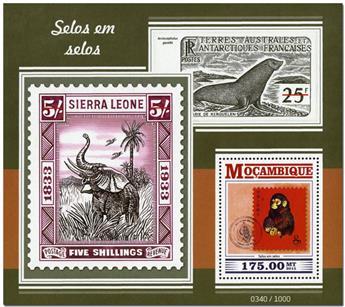 n° 1004 - Timbre MOZAMBIQUE Blocs et feuillets
