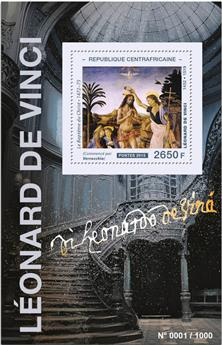 n° 885 - Timbre CENTRAFRICAINE Blocs et feuillets