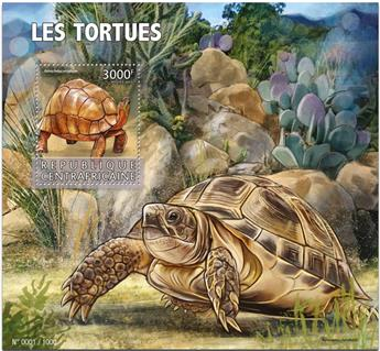 n° 900 - Timbre CENTRAFRICAINE Blocs et feuillets