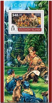 n° 439 - Timbre SALOMON Blocs et feuillets