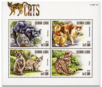 n° 5249 - Timbre SIERRA LEONE Poste