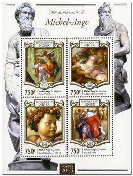 n° 2718 - Timbre NIGER Poste